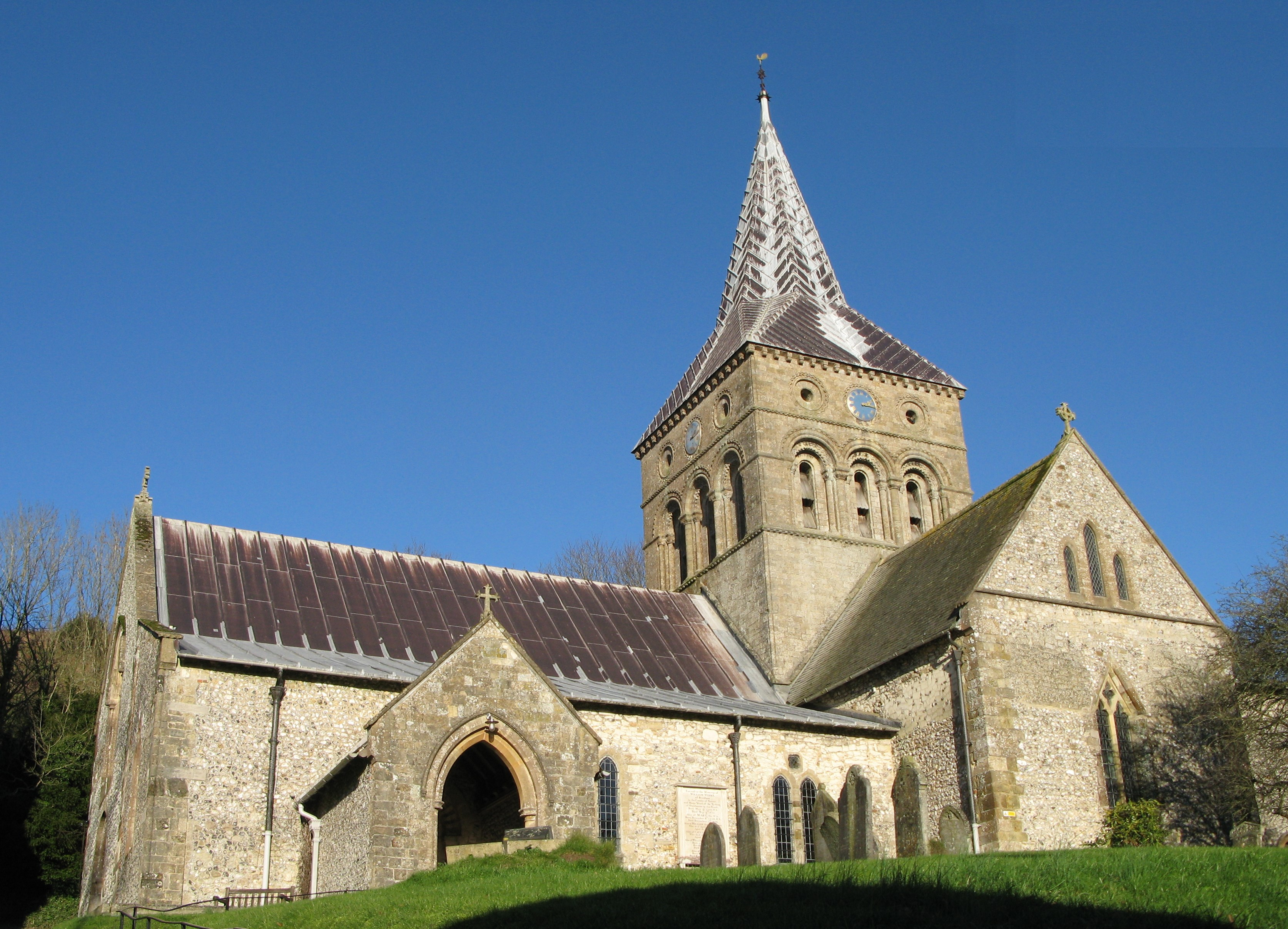 Church of All Saints, East Meon, Hampshire